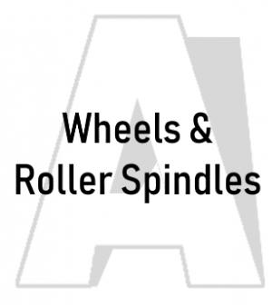 Wheels & Roller Spindles